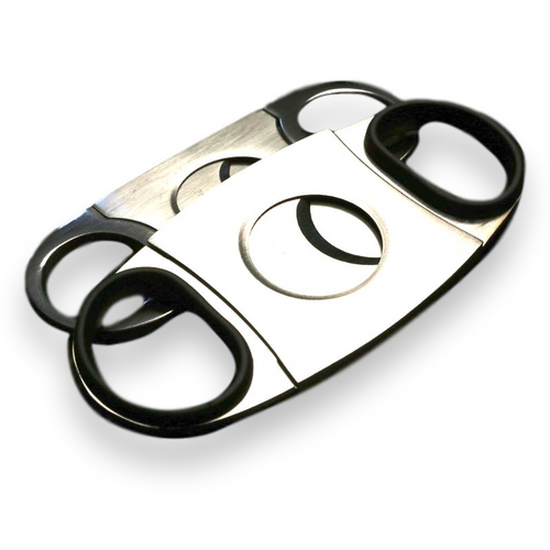 Prometheus Stainless Steel Cigar Cutter KKP - Exterior Front
