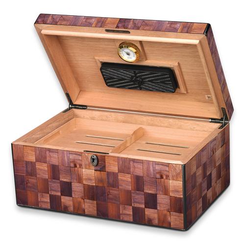 Humidor Supreme Napa 100-Cigar Desktop Humidor