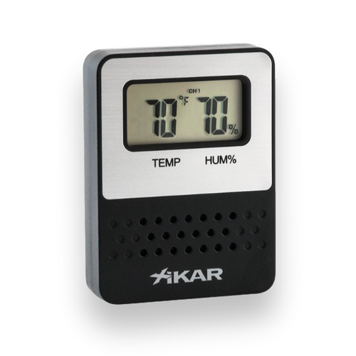 Xikar Purotemp Wireless Hygrometer - Additional Remote Sensor - Exterior Front