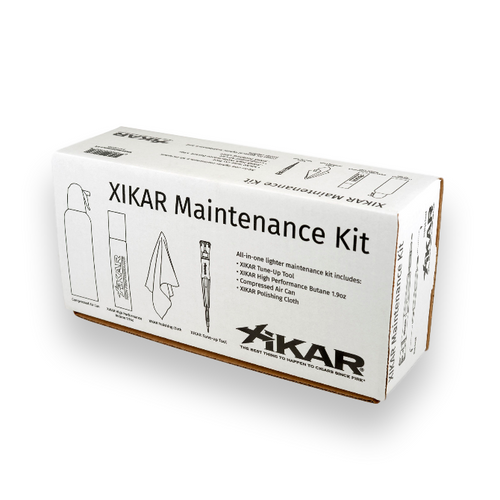 Xikar Lighter Maintanence Kit  - Exterior Front