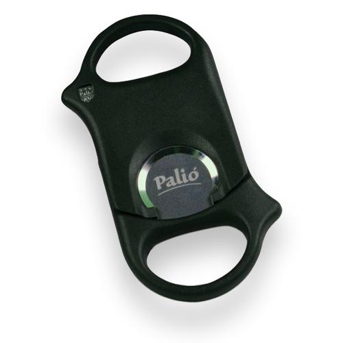 Palio 70 Composite Cigar Cutter - Matte Black - Exterior Front