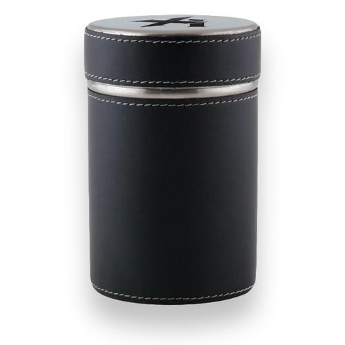 Xikar Executive 1-Cigar Ashtray Can  - Exterior Front