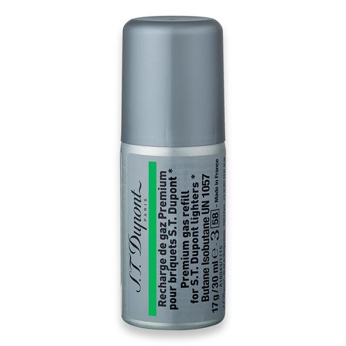 ST Dupont Green 30 ml Zigarettenanzünder-Kraftstoffnachfüllung - 12er-Pack - Außenfront