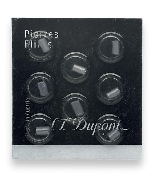 S.T. Dupont Black Lighter Flint - 8-Pack  - Exterior Front