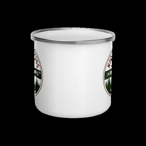 Northwoods Humidors Enamel Mug - Front