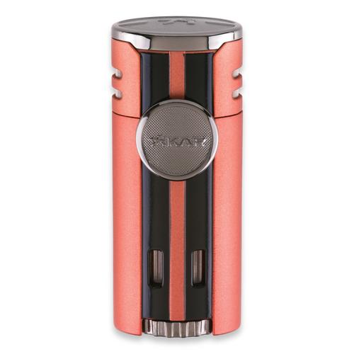 Xikar HP4 Torch Flame Quad Jet Cigar Lighter - Orange - Exterior Front