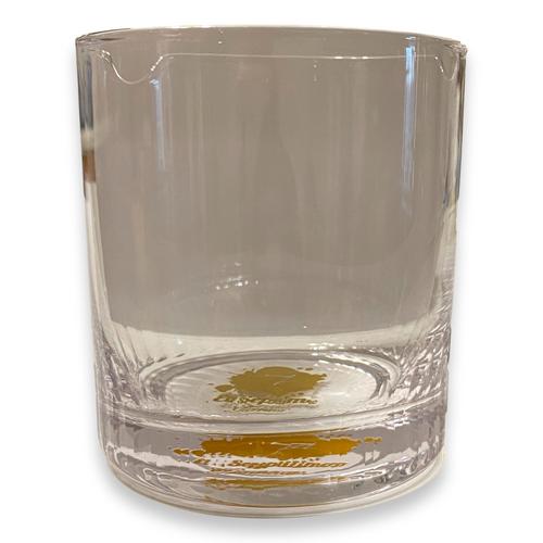El-Septimo Cigar Whiskey Glass - Logo Bottom - Exterior Front