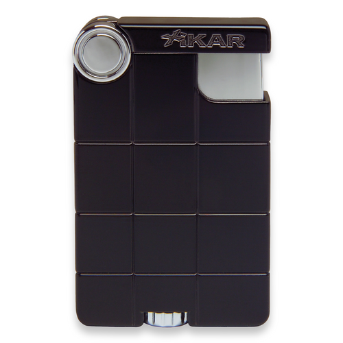 Xikar EX Soft Flame Cigar Lighter - Black - Exterior Front