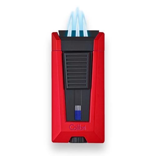 Colibri Stealth 3 Torch Flame Triple Jet Cigar Lighter - Black - Flame