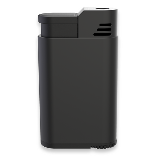 Palio Treo Torch Flame Triple Jet Cigar Lighter - Black - Exterior Front