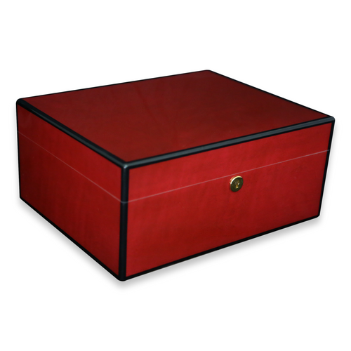 Diamond Crown Tampa 75-Cigar Humidor - 125th Anniversary - Exterior Front