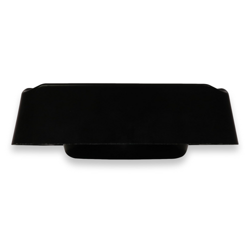 Stinky Cigar Composite 4-Cigar Ashtray - Black - Exterior Side