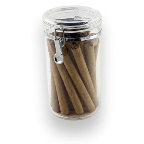 Prestige Acrylic Jar 25-Cigar Acrylic Humidor  - Exterior Front
