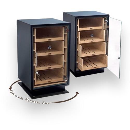 Prestige Manchester 250-Cigar Cabinet Humidor - Base - Exterior Front
