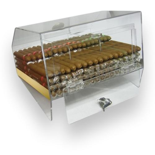 Prestige Laurence 75-Cigar Acrylic Humidor  - Interior
