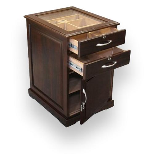 Prestige Santiago 700-Cigar Cabinet Humidor  - Interior