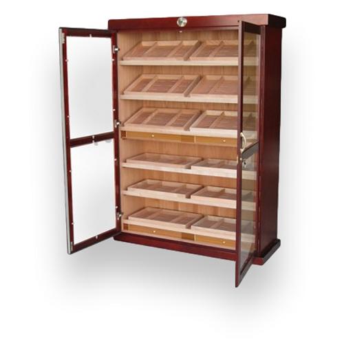Prestige Bermuda 4000-Cigar Cabinet Humidor  - Interior