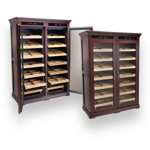 Prestige Reagan 4000-Cigar Cabinet Humidor  - Exterior Front