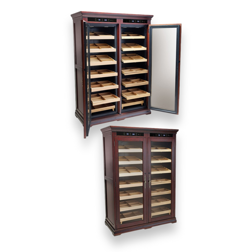 Prestige Reagan 4000-Cigar Cabinet Humidor  - Exterior Interior