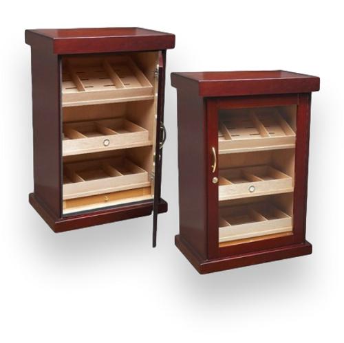 Prestige Spartacus 1000-Cigar Cabinet Humidor  - Exterior Interior