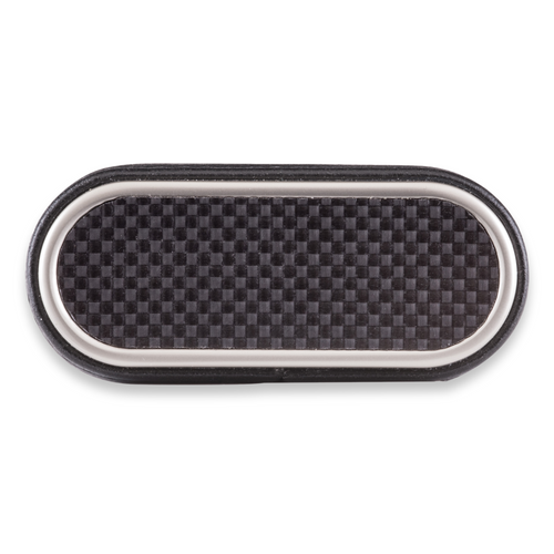 Xikar Envoy 3-Finger Cigar Case - Carbon Fiber - Exterior Top