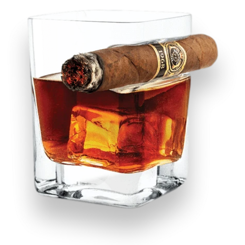 Corkcicle Cigar Whisky Glass - Außenfront
