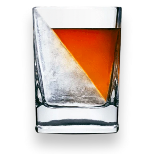 Corkcicle Whisky Wedge - Außenfront mit Whisky