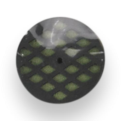 Cigar Caddy Mini Round Foam Scheibenbefeuchter - Außenfront