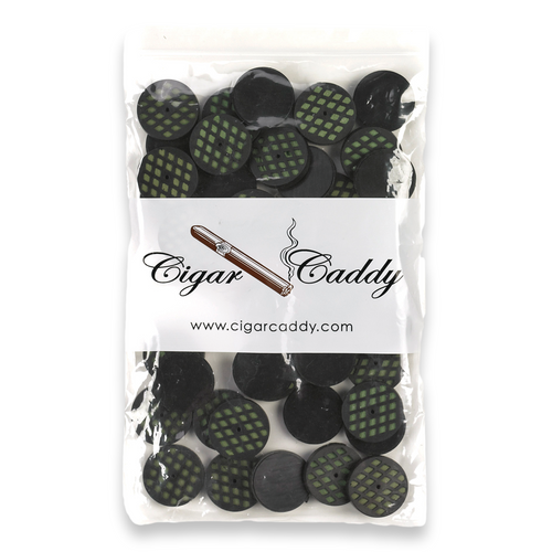 Cigar Caddy Mini Round Foam Disk Humidifier  - Pack - Exterior Front