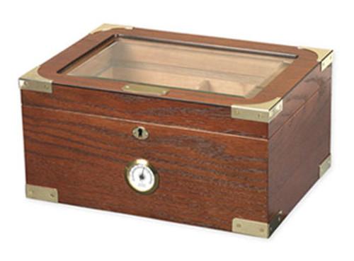 Milano Elegant Desktop Humidor - 75-100 Cigars