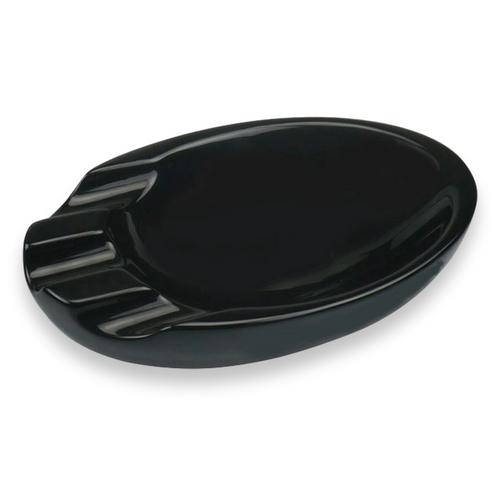 Visol Bradford Ceramic 3-Cigar Ashtray  - Exterior Front