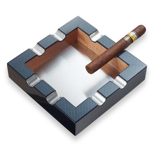 Visol Braeden Pattern Carbon Fiber 8-Cigar Ashtray