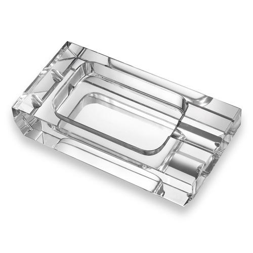 Visol Dalis Crystal 1-Cigar Ashtray  - Exterior Front