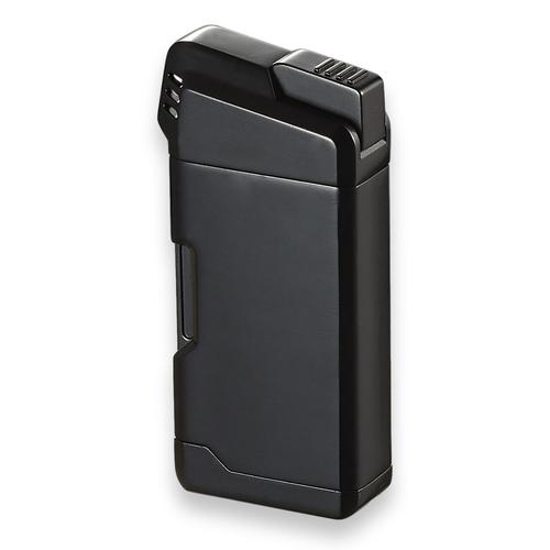Visol Epirus Soft Flame Cigar Pipe Lighter - Black - Exterior Front