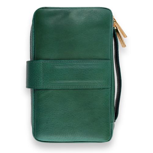 Peter James Generation IV Handmade Leather 6-Finger Cigar Case - Masters - Exterior Back