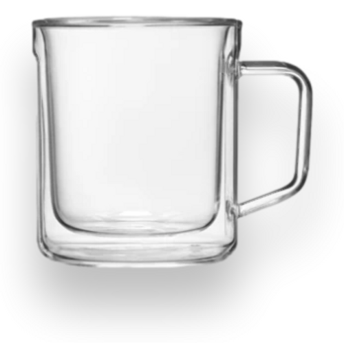 Corkcicle Coffee Mugs Glass Set - 2-Pack - Exterior Front