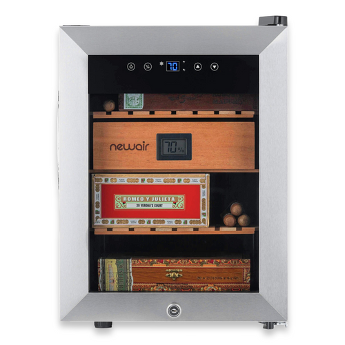 NewAir 250-Cigar Electric Humidor with Thermoelectric Cooling  - Exterior Front