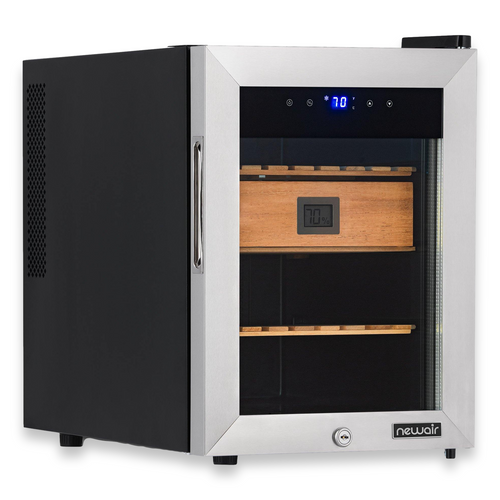 NewAir 250-Cigar Electric Humidor with Opti-Temp™ Heating and Cooling Function  - Exterior Right