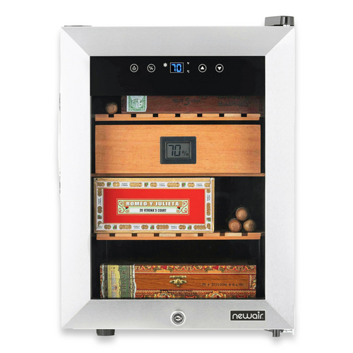 NewAir 250-Cigar Electric Humidor with Opti-Temp™ Heating and Cooling Function  - Exterior Front