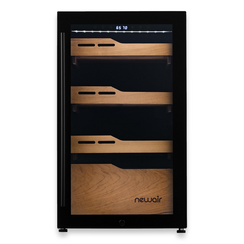 NewAir 840-Cigar Electric Humidor with Humidification System and Opti-Temp™ Heating and Cooling Function  - Exterior Front