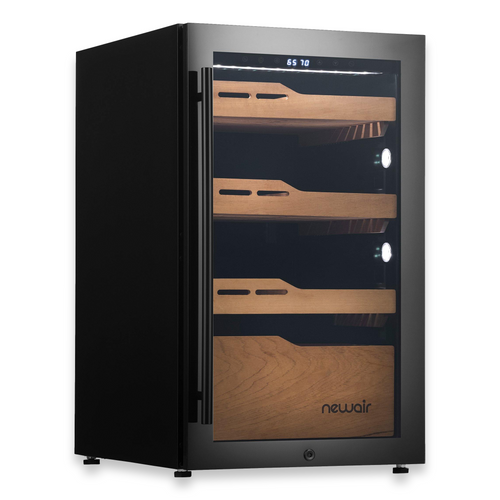 NewAir 840-Cigar Electric Humidor with Humidification System and Opti-Temp™ Heating and Cooling Function  - Exterior Right