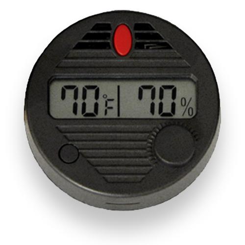 HygroSet Round Digital Hygrometer  - Exterior Front