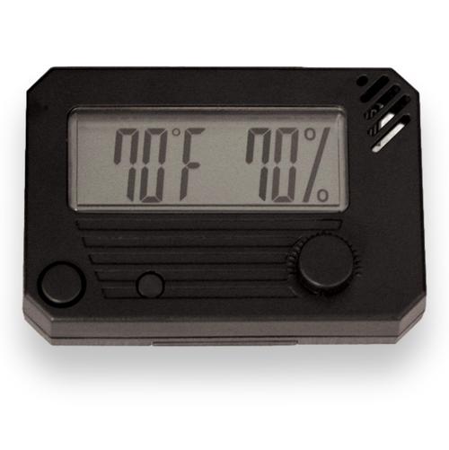 HygroSet Rectangle Digital Hygrometer  - Exterior Front