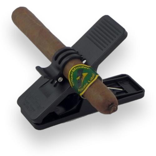Prestige Cigar Minder - Black - Exterior Front
