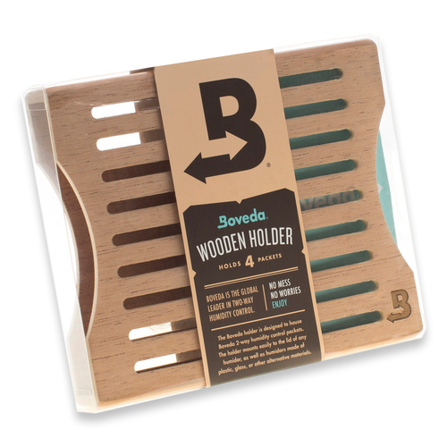 Boveda 4 Pack Cedar Holder (HBVCH4)