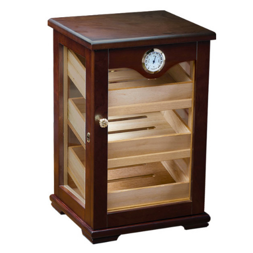 Prestige Import Group Milano 125-Cigar Countertop Display Humidor - Exterior