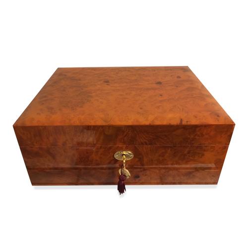 Daniel Marshall 20165 Limited Edition 125-Cigar Humidor - Precious Burl Wood (20165.3)