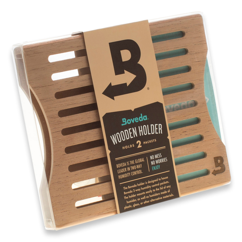 Boveda 2 Pack Cedar Holder - Side by Side (HBVCH2-SBS)