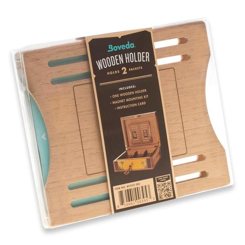 Boveda 2 Pack Cedar Holder - Side by Side (HBVCH2-SBS)