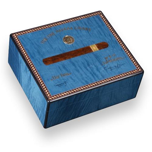 Elie Bleu Medals 50 Cigar Humidor - Medals Collection